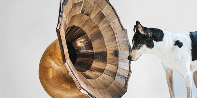 dog-gramophone-speaker