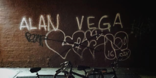 alan vega graffiti by jesse d